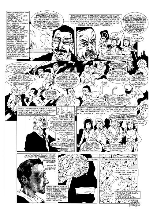 Londra Free Word Centre'da Sergilenecek Çizgi Öyküler / Angry Turks / sayfa 2