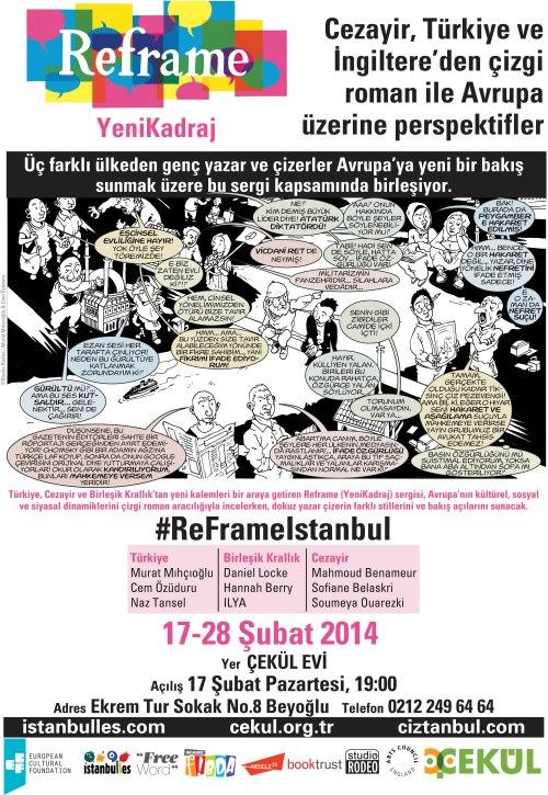 ReFrame Istanbul Sergi Afis